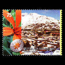 Argentina 2006 - 100th Anniversary of the City of Esquel Flowers - Sc 2369 MNH