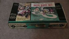 Ungar Slot Car Race Set With Box Tracks Instructions Racing