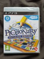 U DRAW PICTIONARY ULTIMATE EDITION Sony Playstation 3 Game PS3 NEW SEALED