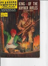 Classics Illustrated   #107  hrn 118  King of the Khyber Rifles