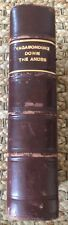 VAGABONDING DOWN THE ANDES HARRY A FRANCK Leather Custom Binding 1920