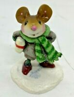 """RARE Wee Forest Folk 2007 M-342a """"Squire's Little Friend"""" Signed """"AP"""""""