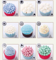 24Pcs Cream Icing Piping Nozzles Tips Pastry Cake Cookie Cupcake Decor Tools Kit