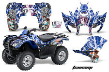 ATV Graphics Kit Decal Sticker Wrap For Honda Rancher AT 2007-2013 TSUNAMI BLUE
