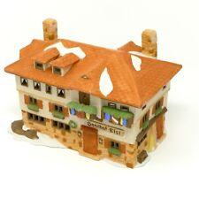 Dept 56 Alpine Village Series Gasthof Eisl #65404 In Original Box Retired