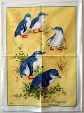 Tea Towel - Australian Little Fairy Penguines - 100% Cotton