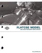 2004 HARLEY-DAVIDSON FLHTCSE ELECTRA GLIDE PARTS CATALOG MANUAL -FLHTCSE