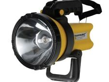 HALOGEN Rechargeable 2 Million Candle Power Torch Spotlight + AC/DC Chargers