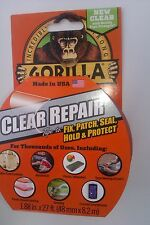 GORILLA  Repair Tape 48mm x 8.2m Clear Duct Tape
