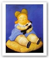 Botero Art Poster Custom Framed Still Life with /'The Journal/' 44x35