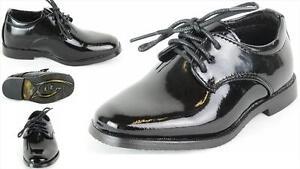 Kinderschuhe festliche Jungen Schuhe schwarz Lack Kommunion Hochzeit Gr.18 - 37