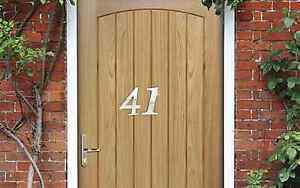5cm Acrylic Stylish NUMBER Mirror (0-9)- House/ Door Number/ Scrapbooking