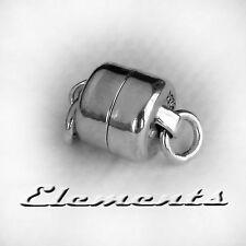 Solide Argent Sterling 925 Fermoir magnétique collier chaîne bracelet fastener