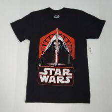 STAR WARS Kylo Ren T-Shirt Adult Distressed Graphic Black Mad Engine Unisex S