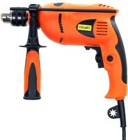 Stalwart Hammer Drill 120-Volt 1/2 in. Corded Powerful Compact Ergonomic Handles