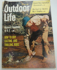 Outdoor Life Magazine Casting And Trolling Rods May 1958 062415R2