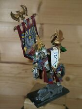 PLASTIC WARHAMMER HIGH ELF MOUNTED LORD PAINTED (404)