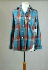 Denim & Supply Ralph Lauren Long Sleeve Ladies Shirt Stetson Size S CR191 DD 17