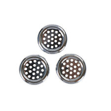 3PCS Round Ring Overflow Cover Plug Sink Filter Bathroom Basin Sink Drain HU