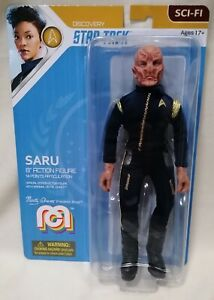"STAR TREK - *New MOC* Mego Star Trek Discovery Saru 8"" Figure By Marty Abrams"