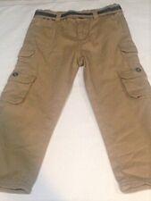 Pants toddler boys size 4T cotton new khaki adjustable waist Wrangler Jeans Co