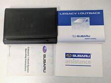 SUBARU LEGACY & OUTBACK OWNERS MANUAL HANDBOOK WALLET 2006–2009 PACK M-304