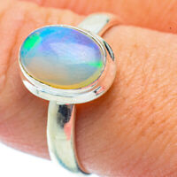 Ethiopian Opal 925 Sterling Silver Ring Size 9 Ana Co Jewelry R35807F