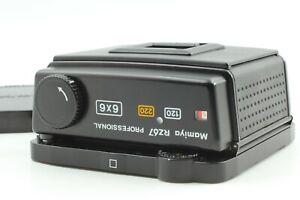 【Near Mint w/ Cap】 Mamiya RZ67 Pro 120 220 6x6 Roll Film Back Holder From Japan