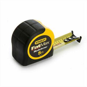 Stanley 0-33-720 Fatmax STA033720 5m Armor Metric Tape Measures
