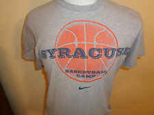 Small Nike Syracuse Orangemen college basketball camp Just Do It t-shirt