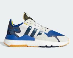 Adidas Limited Ninja Nite Gamer Jogger Shoes Men's Size 10 Blue/White/Yellow