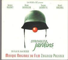 EFFROYABLES JARDINS - ZBIGNIEW PREISNER SCORE TOP RARE OOP OST CD