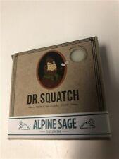 Dr. Squatch Natural Mens Soap – 5oz  Limited Edition - Alpine Sage - NEW NIB