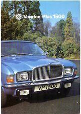 Vanden Plas 1500 Series 2 1976-79 UK Market Sales Brochure Austin Allegro