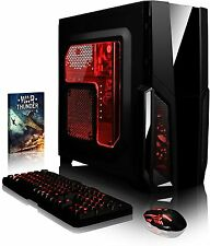 Vibox Gaming PC Pyro-SA4 Red - 3.9GHz Dual Core  Radeon Graphics  4GB RAM  1TB