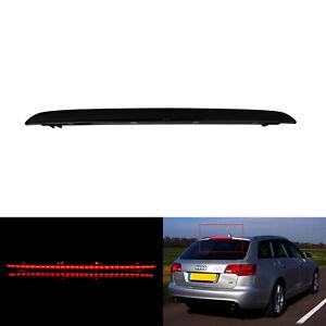 LED Feu de Stop Supplémentaire Arriere Lentille Noir Pour Audi A6 C6 BREAK 05-11