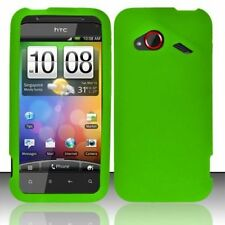 Silicone Skin Case for HTC Droid Incredible 4G LTE 6410 - Green