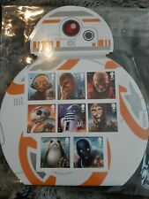 2017 Star Wars BB8 Display Royal Mail stamps