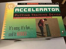 """The Accelerator """" Putting Training Device """" 3 Step Sytem In Box"""