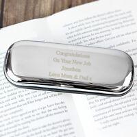 Personalised Laser Engraved Glasses Case - Hard Case - Multiple Fonts -Christmas
