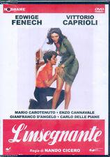 L' insegnante (1975) DVD NUOVO SIGILLATO Edwige Fenech. Alvaro Vitali. Cannavale