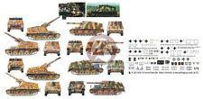 Peddinghaus 1/72 Sd.Kfz.165 Hummel German SPG WWII Markings (5 vehicles) 2355