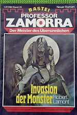 Professor Zamorra Nr. 28, Erstdruck, Invasion der Monster, Zustand: 1-