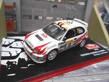 TOYOTA Corolla WRC Rallye Monte Carlo 2000 #18 Thiry Prevot Zucchetti IXO 1:43