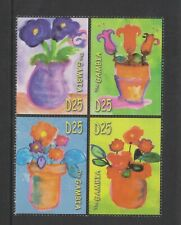 Gambia - 2006, Kids Did It, Flowers set - MNH - SG 4912/15