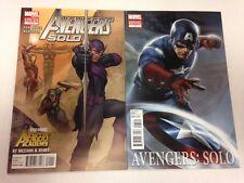 Avengers Solo #1 variant #1 2 3 4 5 2011 2012