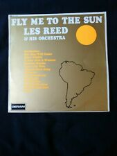 Les Reed & His Orchestra ‎– Fly Me To The Sun  LP  vinilo