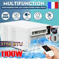 1100W Climatiseur Air Conditioner Fenêtre Power Réfrigéré Froid/chaleur 3754BTU
