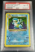 Pokemon PSA 8 Shadowless Blastoise from Base Set 2/102 MINT Holo