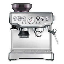 Breville BES870XL The Barista Express Espresso Machine w/ Grinder - Silver | NEW